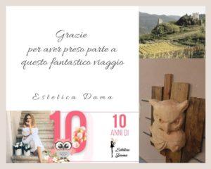 Estetica Dama-Castello di Segonzano-Scultura di gufo da Estetica Dama