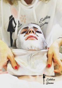 Maschera viso ossigenante Estetica Dama