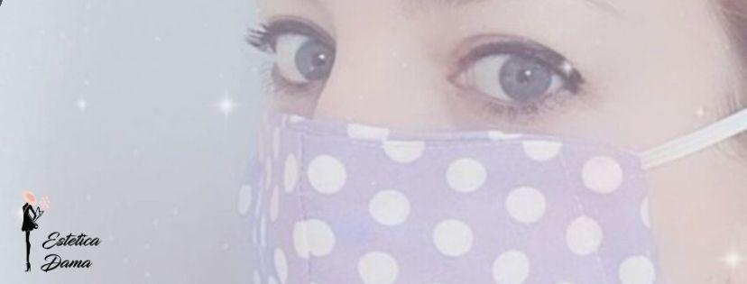 Trucco con la mascherina Estetica-Dama