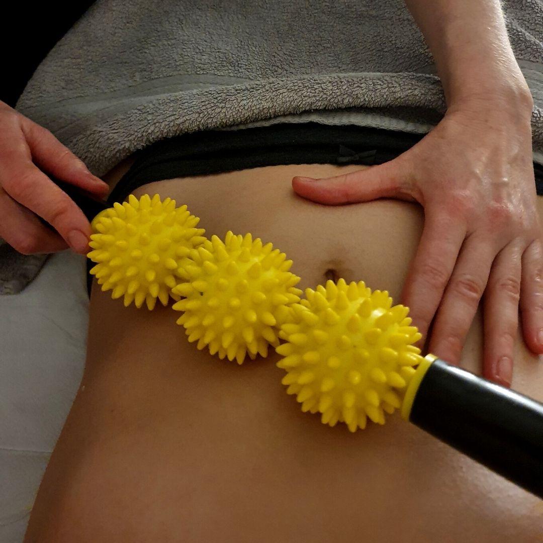 Massaggio pancia Estetica-Dama