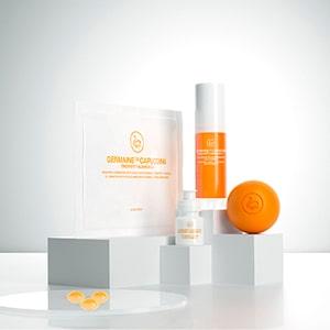Prodotti per eseguire il trattamento Timexpert Radiance C+ Estetica-Dama