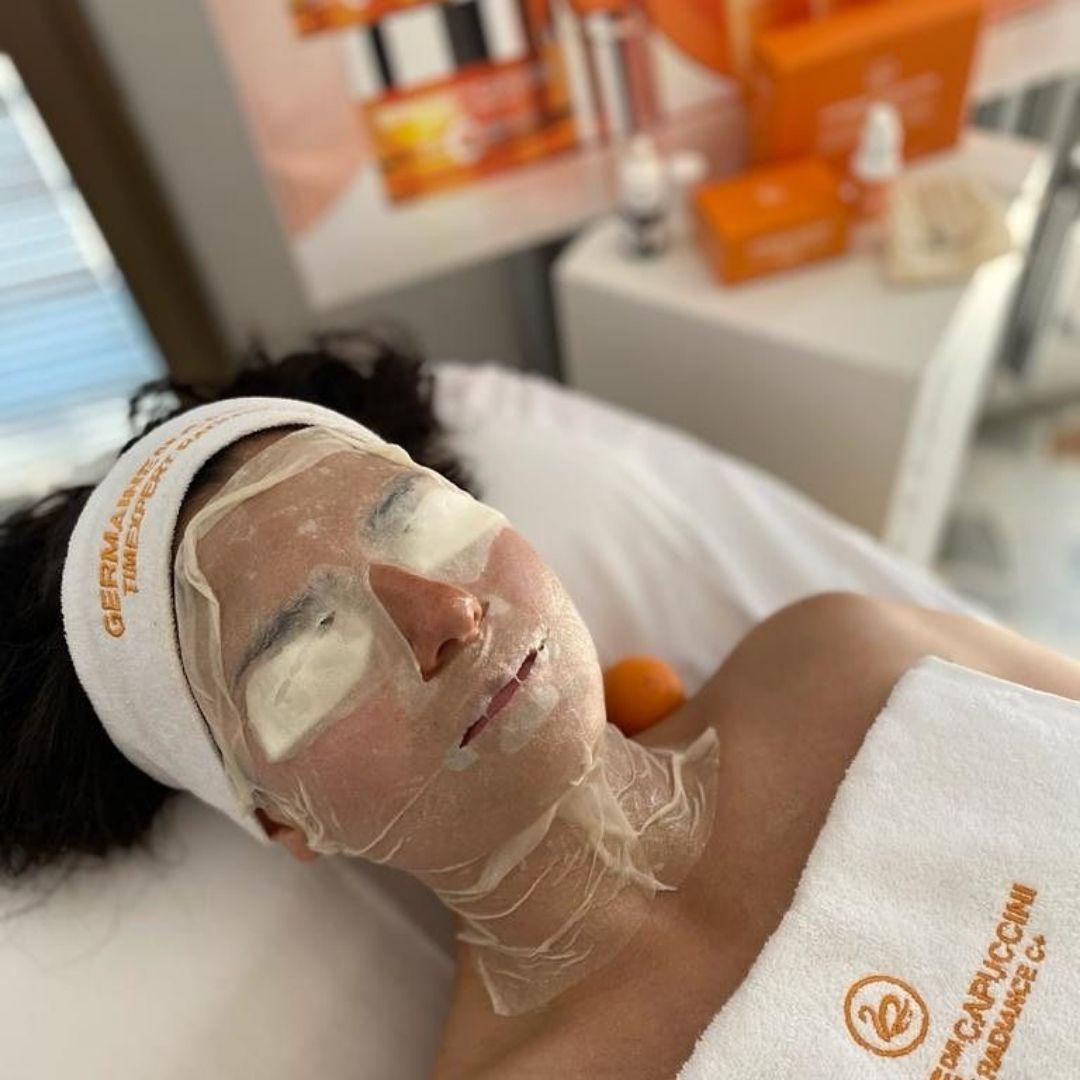 Maschera viso Radiance Estetica-Dama
